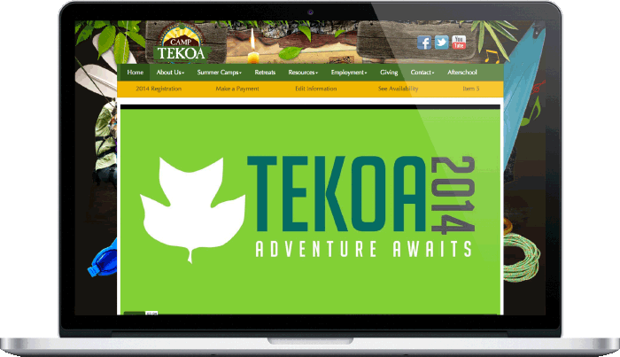Camp Tekoa Desktop