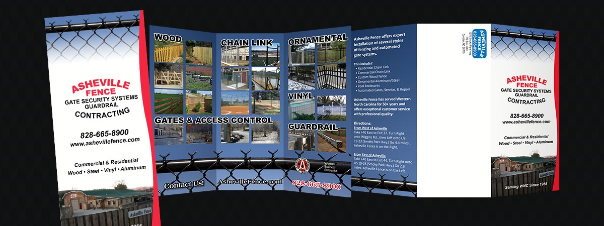 Asheville Fence Brochure
