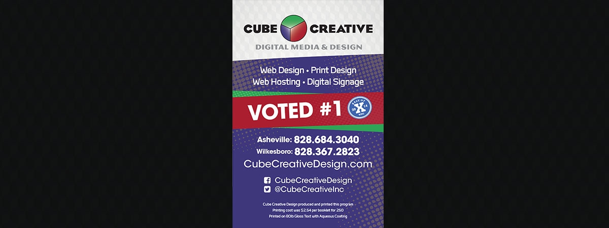 Cube Creative Design Ad