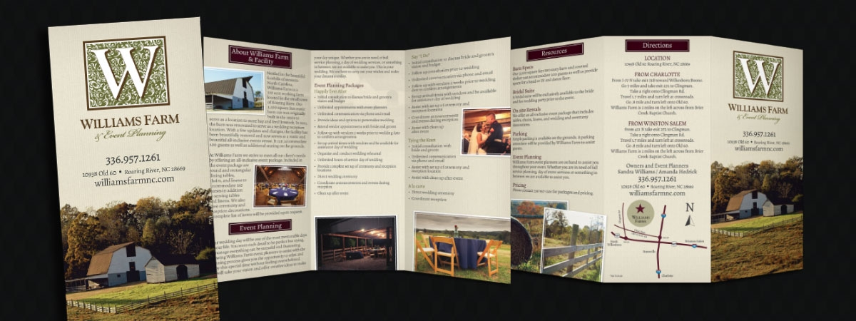 Williams Farm Brochure