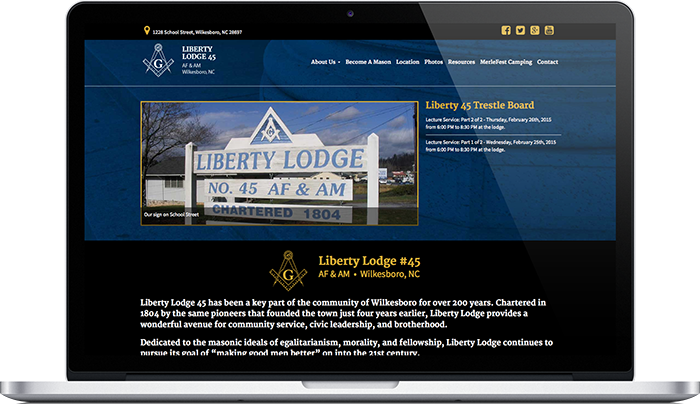 Liberty Lodge 45 Desktop