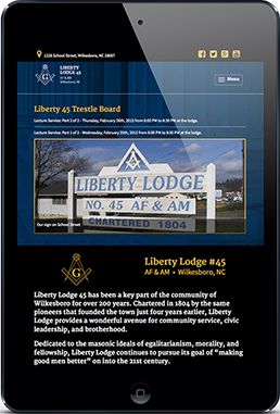 Liberty Lodge 45  Tablet