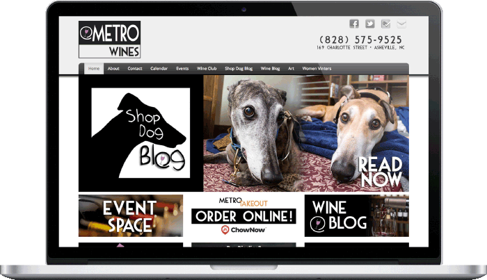 Metro Wines Desktop