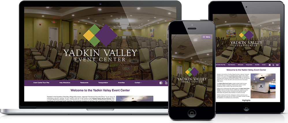 yadkinvalleyeventcenter.com