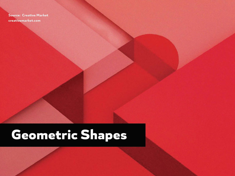 2016 Design Trends - Geometric Shapes