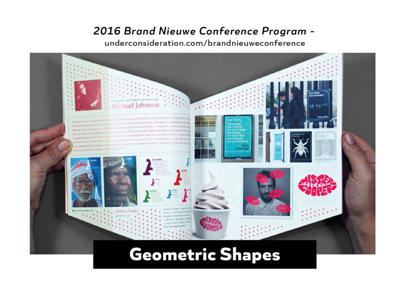 2016 Design Trends - Geometric Shapes 1