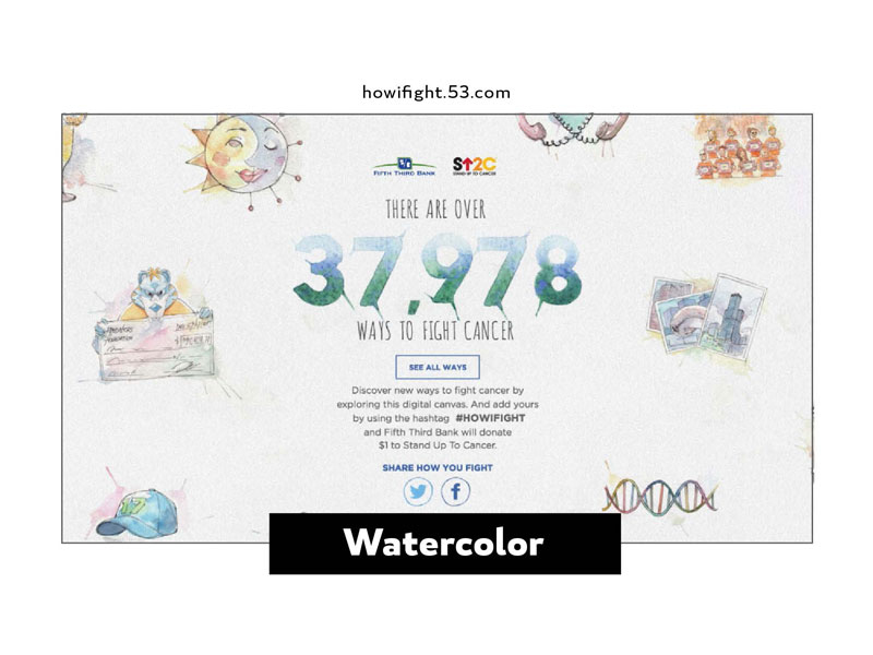 2016 Design Trends - Watercolor