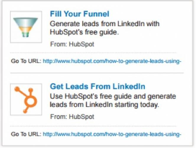 Social Ad On Linked In Sponsored Content By Hubspot
