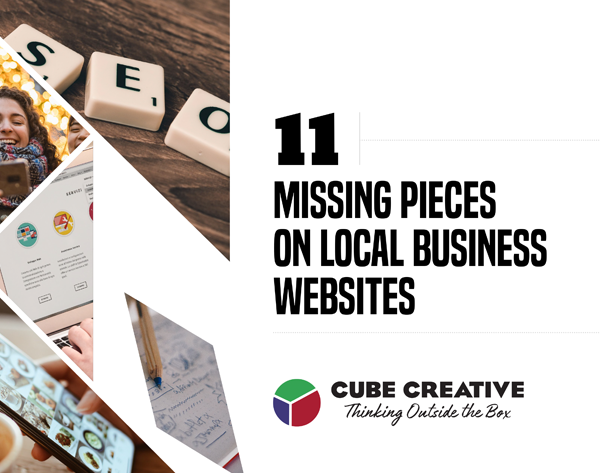 11 Missing Pieces on Local Business Websites