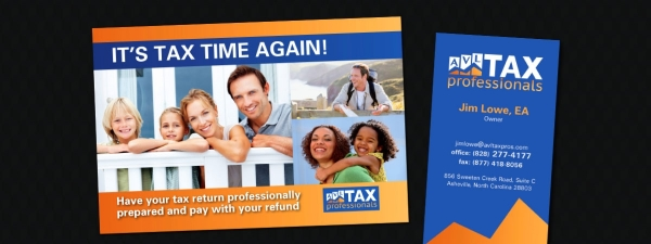 AVL Tax Professionals Print Collateral