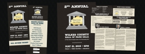 Wilkes County Hall of Fame Print