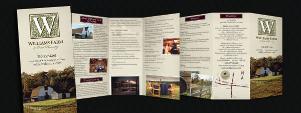 Williams Farm Tri-Fold Brochure