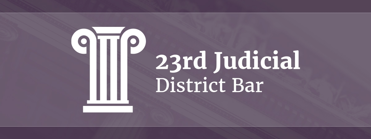 23rd Judicial District Bar